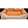 Лежак GT Dreamer Kit Chestnut M 78 x 54 x 12 см (Beige-White)