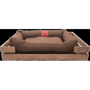 Лежак GT Dreamer Kit Chestnut M 78 x 54 x 12 см (Brown)