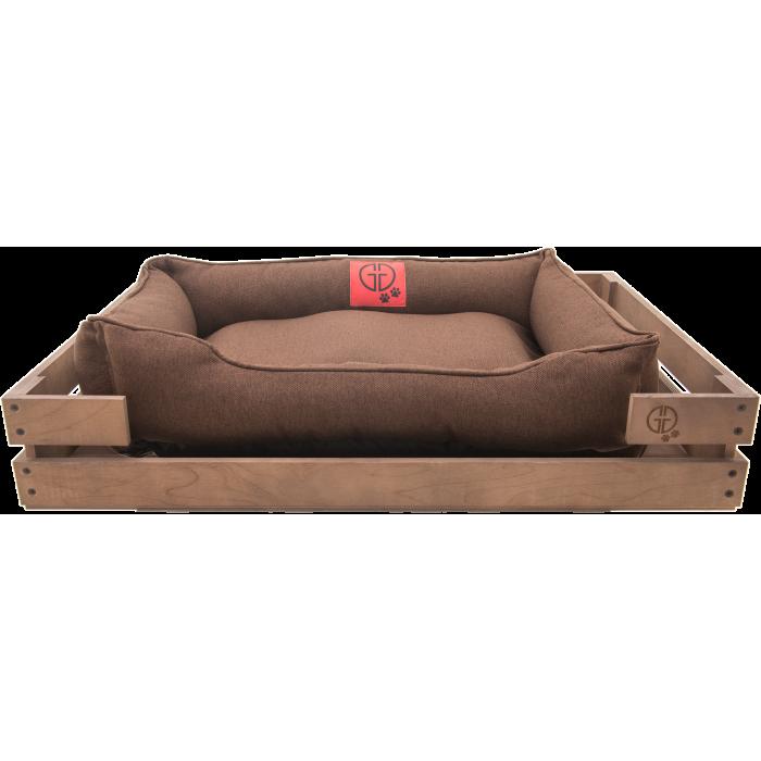 Лежак GT Dreamer Kit Chestnut XL 118 x 74 x 16 см (Brown)