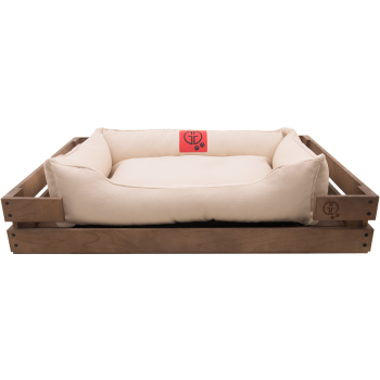 Лежак GT Dreamer Kit Chestnut M 78 x 54 x 12 см (White)