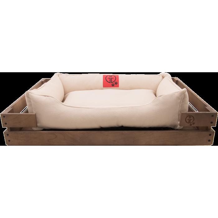 Лежак GT Dreamer Kit Chestnut XL 118 x 74 x 16 см (White)