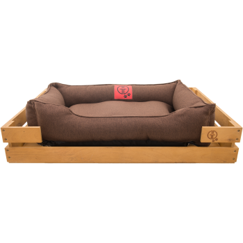 Лежак GT Dreamer Kit Pine M 78 x 54 x 12 см (Brown)