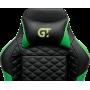 Геймерское кресло GT Racer X-2604-4D Black/Dark green