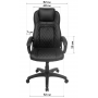 Офисное кресло GT Racer X-2972 Black