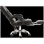 Oфисное кресло GT Racer X-2976 Footrest Black