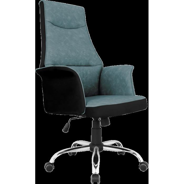 Офисное кресло GT Racer B-4030 Black/Dark Blue