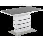 Стол GT DT8053-2 (140-180*80*76) White/Gray