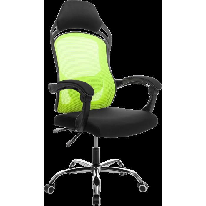 Офисное кресло GT Racer H-2201 Black/Green