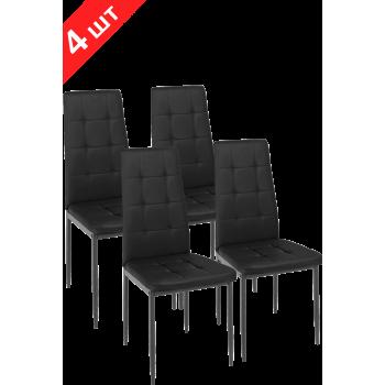 Комплект стульев GT K-2010 Black (4 шт)