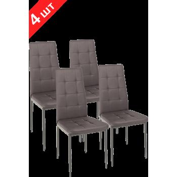 Комплект стульев GT K-2010 Dark Brown (4 шт)