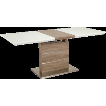 Стол GT K-6101 (140-180*80*76) White/Cappucino