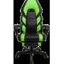 Геймерское кресло GT RACER M-2643 Black/Green