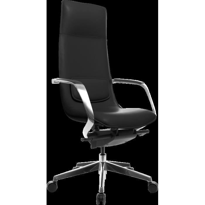 Офисное кресло GT Racer X-003A LEATHER Black