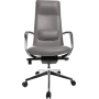 Офисное кресло GT Racer X-003A LEATHER Dark Gray