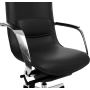 Офисное кресло GT Racer X-003F LEATHER Black