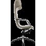 Офисное кресло GT Racer X-003F LEATHER Dark Beige