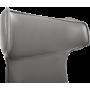 Офисное кресло GT Racer X-003F LEATHER Dark Gray