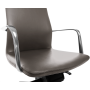 Офисное кресло GT Racer X-004A13 LEATHER Gray