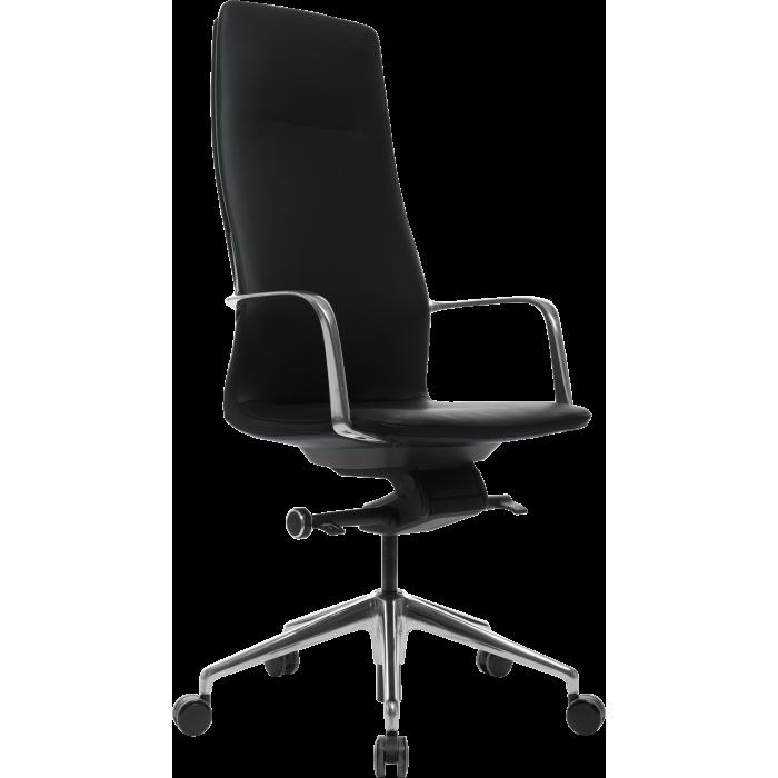 Офисное кресло GT Racer X-004A13 LEATHER Black