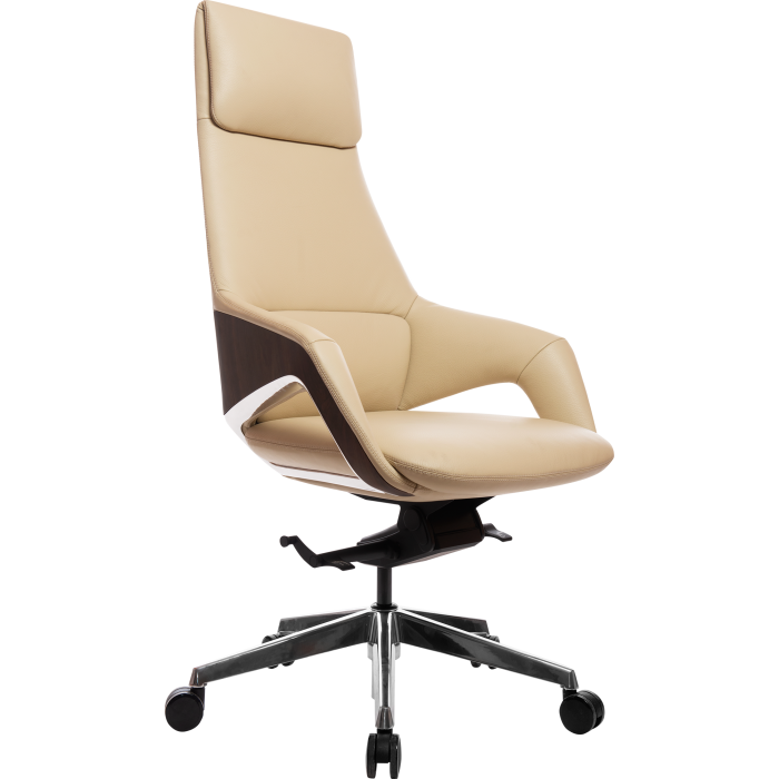 Офисное кресло GT Racer X-005A LEATHER Beige