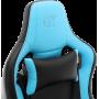 Геймерское кресло GT RACER X-0814 Black/Light Blue