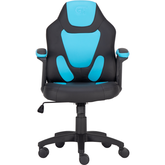 Геймерское кресло GT Racer X-1414 Black/Light Blue (Kids)