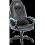 Геймерское кресло GT Racer X-2318 Black/Light Blue