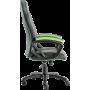 Геймерское кресло GT Racer X-2318 Black/Apple Green