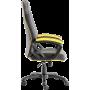 Геймерское кресло GT Racer X-2318 Black/Yellow