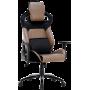 Геймерское кресло GT Racer X-2420 Black/Brown