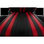 Геймерское кресло GT Racer X-2504-M Black/Red