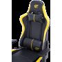 Геймерское кресло GT Racer X-2528 Black/Yellow