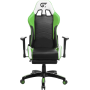 Геймерское кресло GT Racer X-2532-F Black/Green/White