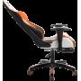 Геймерское кресло GT Racer X-2532-F Black/Orange/White