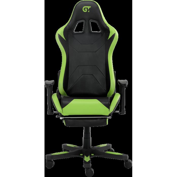 Геймерское кресло GT RACER X-2535-F Black/Green