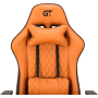 Геймерское кресло GT Racer X-2540 Brown/Orange
