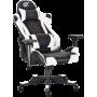 Геймерское кресло GT Racer X-2563-1LP Black/White