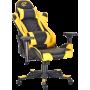 Геймерское кресло GT Racer X-2563-1LP Black/Yellow