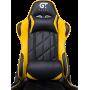 Геймерское кресло GT Racer X-2579 Black/Yellow