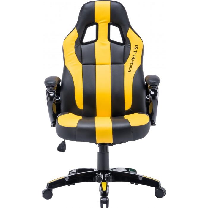 Геймерское кресло GT Racer X-2774 Black/Yellow