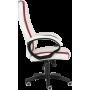 Офисное кресло GT Racer X-2858 White/Red