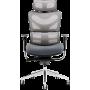 Офисное кресло GT Racer X-782 Bright Gray (W-20, B-40)