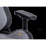 Геймерское кресло GT Racer X-8005 Light Grey/Black Suede