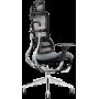 Офисное кресло GT Racer X-801L Bright Gray (W-20, B-40)