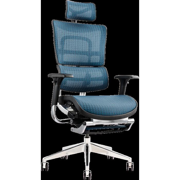 Офисное кресло GT Racer X-802L Blue