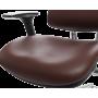 Офисное кресло GT Racer X-807 Leather Burgundy (P-01)