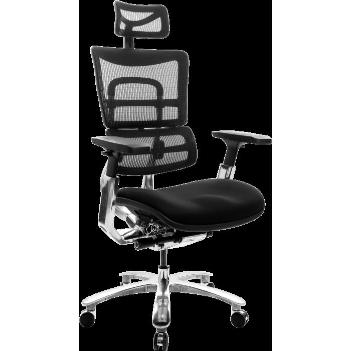 Офисное кресло GT Racer X-809 Black (W-31, B-41)