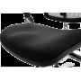 Офисное кресло GT Racer X-809L Black (W-31, B-41)