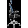 Офисное кресло GT Racer X-W1032 Fabric Black/Dark Blue