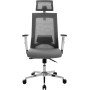 Офисное кресло GT Racer X-W182 Gray